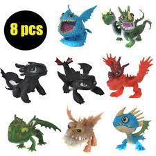 Set 8 mô hình rồng đồ chơi phim How To Train Your Dragon cho bé giảm chỉ  còn 137,104 đ