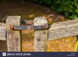 Gate Hinge High Resolution Stock Photography And Images Alamy