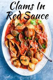 Clams in red sauce is always a hit ...