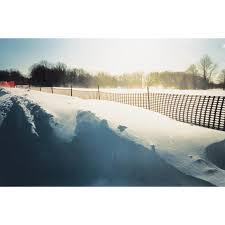 Tenax Nordic 100 Ft X 48 In Black Contractor Snow Fence In The Erosion Fencing Department At Lowes Com
