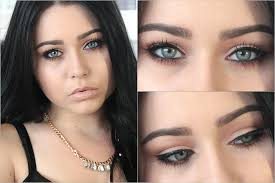 eye makeup for blue eyes tutorial