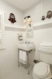 Get Your Own Owl Wall Decal All White Bathroom Ideas Images Of All White Bathroom Designs