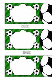 Kit De Futbol Soccer Imprimible Para Fiestas Tematicas