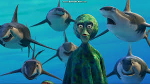 "Shark Tale - Oscar and Lenny ""fight"" - YouTube"