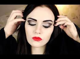 morticia addams makeup tutorial emma