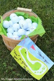 golf gift basket teacher appreciation