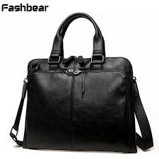 leather briefcases men messenger brief