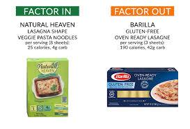 lighter lasagne legit f factor