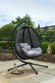 egg chair textilene garden furniture