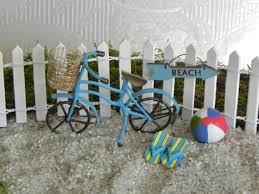 beach bike bicycle miniature garden