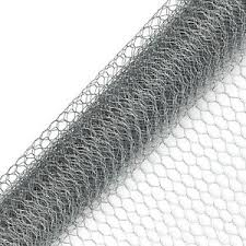 Galvanised Chicken Wire Mesh Fence Net Rabbit Netting Fencing Cages Runs Pens Ebay