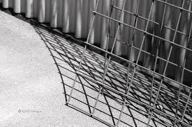 Hog Wire And Corrugated Steel Photograph By Kae Cheatham