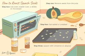 tips and recipes for using squash seeds