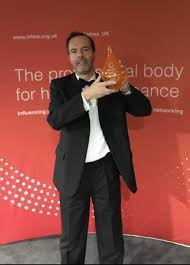 Adrian wins Finance Director of the Year Award - Manchester University NHS  Foundation Trust