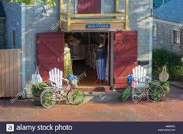 Abigail Fox Designs clothing store, Nantucket, Massachusetts, United States  Stock Photo - Alamy