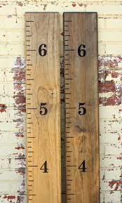 Diy Growth Chart Ruler Vinyl Decal Kit Traditional Style Etsy Growth Chart Ruler Growth Chart Wooden Growth Chart