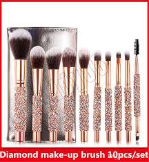 makeup brushes set diamond brushes