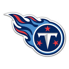 Tennessee Titans Large Die Cut Car Magnet
