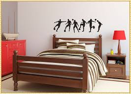Best Soccer Wall Decals Strangetowne How To Decorate A Room For Child Soccer Wall Decals