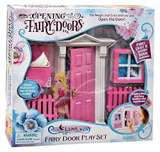 Opening Fairy Doors Pretend Playset Creates A Magical Fairy World In Your Room Ebay