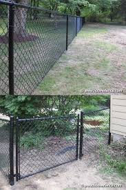 Railings 139950 Black Residential Chain Link Fence Job Lot W Gates 4 High Approx 500 Lf Buy It Now Only 3378 98 On E Chain Link Fence Fence Chain Link