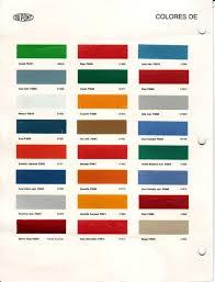 modern vespa original colour chart