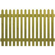 Pointed Top Picket Panels Wooden Fence Panels Grangewood Fencing
