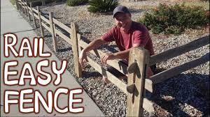 Diy Halloween Fence For Pumpkin Patch Halloween Decoration Idea Split Rail Board Fence Youtube