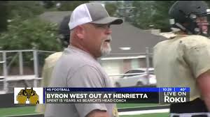Byron West out at Henrietta