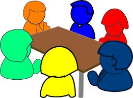 Colorful Meeting Clip Art at Clker.com - vector clip art online ...