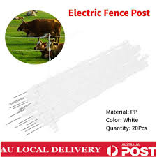 Au 20x Tread In Wire Pigtail Post Posts Electric Fence Pig Tail Strip Graze Ebay