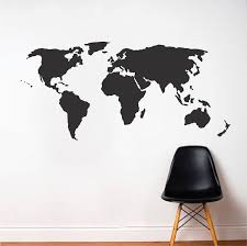 World Wall Decal Modern Wall Decals From Trendy Wall Designs