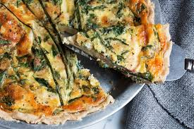Crab Quiche - Seasons and Suppers