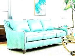 aqua leather sofa by futura