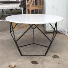 china modern metal coffee table small