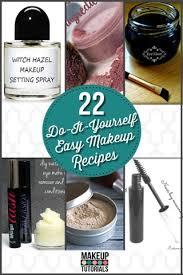22 diy cosmetics easy makeup recipe