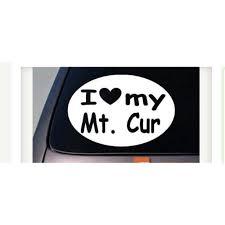 I Love My Mountain Cur Mt Cur Squirrel Hunting Truck Window 6 Sticker Decal A033 Walmart Com Walmart Com