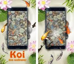 koi pond 3d live wallpaper apk