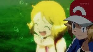 Pokemon XYZ anime episode 22 Serena and Satoshi / Ash. Serena ...