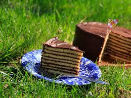 Smith Island Layer Cake : Recipes : Cooking Channel Recipe | Cooking Channel