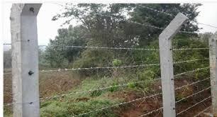 Barbed Wire Fencing Om Muruga Fencing