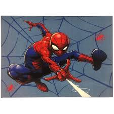 Jay Franco Spiderman Go Time Kids Room Rug Large Home Area Rug Measures 4 X 5 Feet Walmart Com Walmart Com