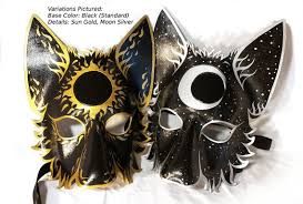 wolf mask set masks larp garb