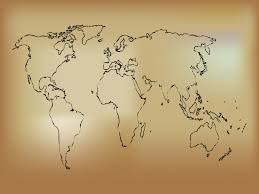 old world map powerpoint templates