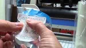 Vinyl Decal On Wine Glass Youtube