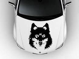 Wolf Art For Cars Hood Car Vinyl Decal Art Sticker Graphics Proud Wolf Animal Predator Vinyl Decals Car Decals Vinyl Sticker Art
