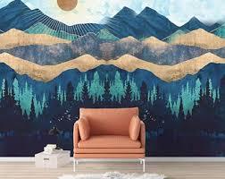 Nature Wall Mural Etsy