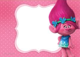 Convite Poppy Trolls Invitaciones Para Imprimir Gratis Fiesta