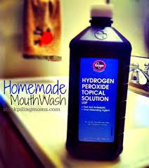 homemade mouthwash stockpiling moms