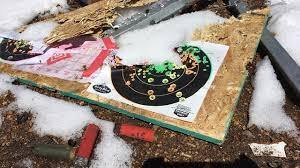 targets at Harris Park Shooting Range